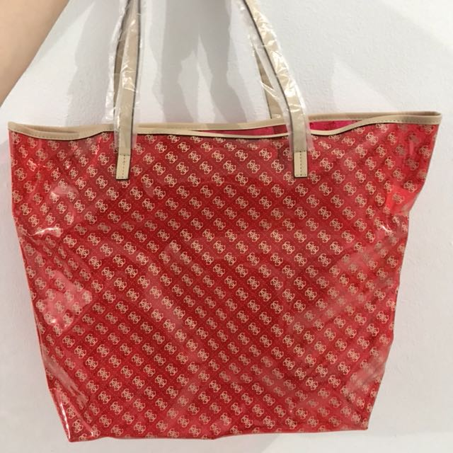 Tote Bag Jelly Guess Original 100%