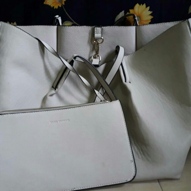 Tote bag zara women