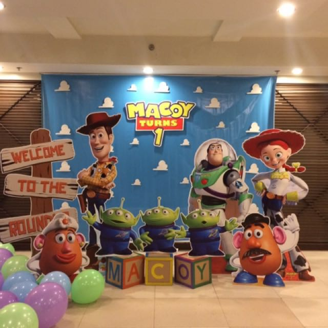 Toy Story Party Standees