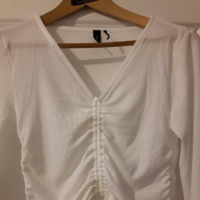 Urban outfitters ruched top