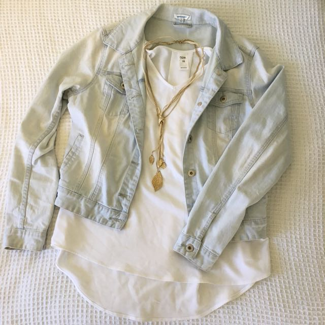 Valleygirl denim coat: Size 12
