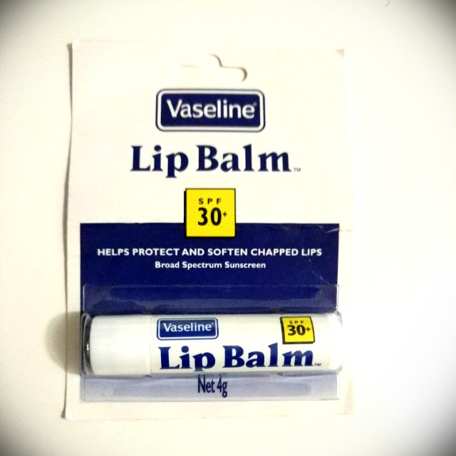 Vaseline Lip Balm with SPF30 Sunscreen Brand New Unopened