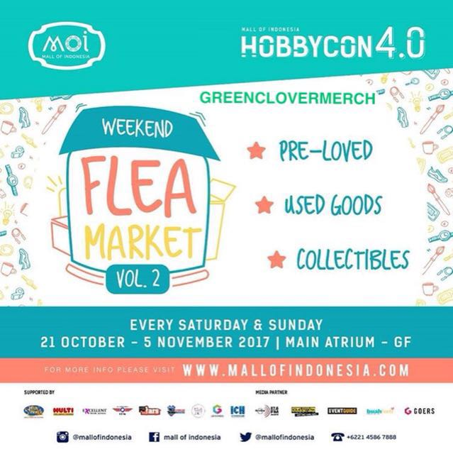 Weekend Flea Market MOI - Greenclovermerch