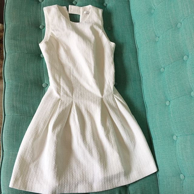 Zara white mini skirt in size S