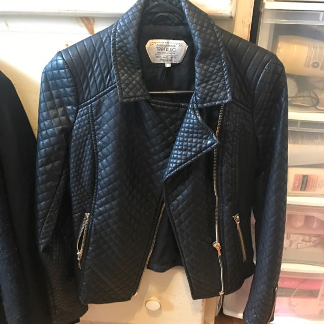 Zara XS leather Jacket