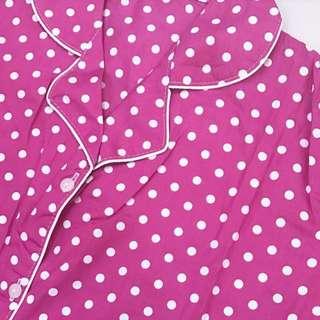 Pink Polka Pajamas (short-pants)