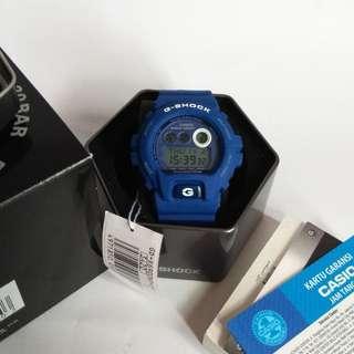 Jam Tangan Casio G-shock GD-X6900HT-2DR The Smurf Original
