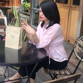 Kimono Pink Lady Top