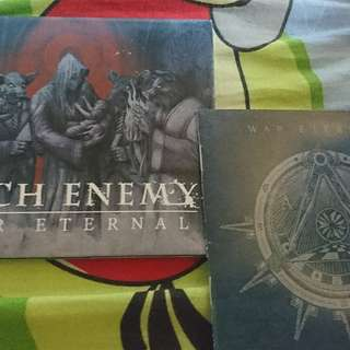 Arch Enemy 邪神大敵 War Eternal CD + Patch 布章