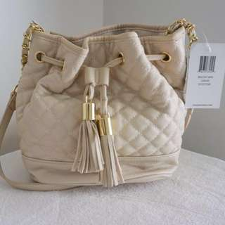 Steve Madden Quilted Bucket Bag