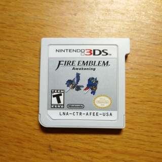 Nintendo 3DS Game: Fire Emblem Awakening