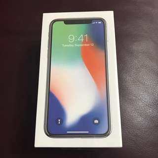 iPhone X (silver 64G)