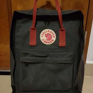AUTHENTIC BLACK-OX RED Kanken Classic