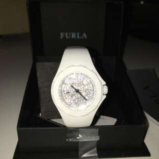 White Furla Watch
