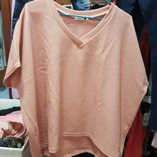 V領寬上衣(XL)