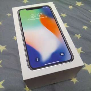 (WTS) Brand new IPHONE X SILVER 256gb $1900