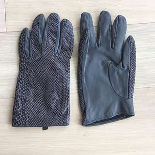 Friis Company leather gloves