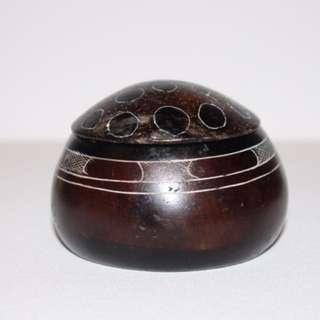 Soap Stone Round Box