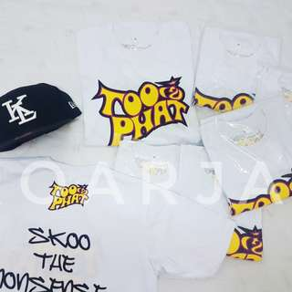 Too phat T shirt readystock