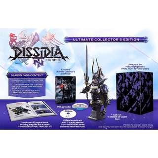 PS4 Dissidia: Final Fantasy NT - Ultimate Collector's Edition