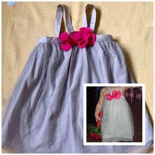 Preloved gray gingersnaps toddler dress