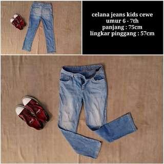 Celana jeans kids women