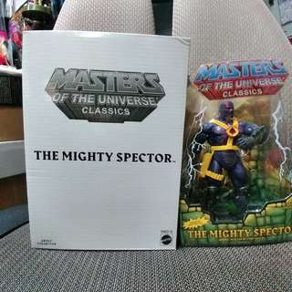MASTERS OF UNIVERSE CLASSICS : THE MIGHTY SPECTOR (not Marvel Legends, DC, Heman)