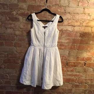 Kate Moss Topshop White Dress