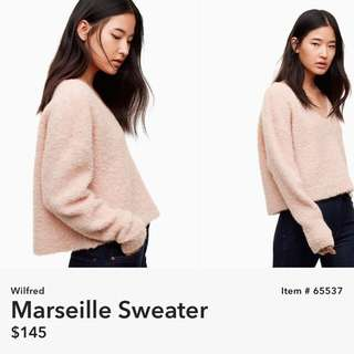 Aritzia Wilfred Marsielle Sweater