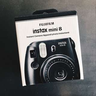 Brand New Instax Mini 8 - Black
