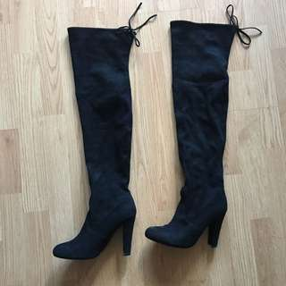 Steve Maddens Thigh High Boots