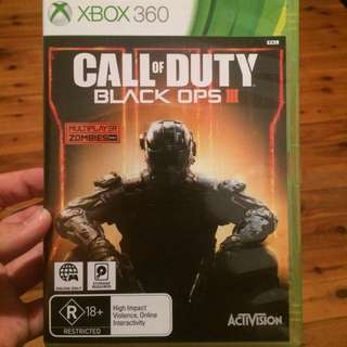 BLACK OPS 3 for Xbox 360