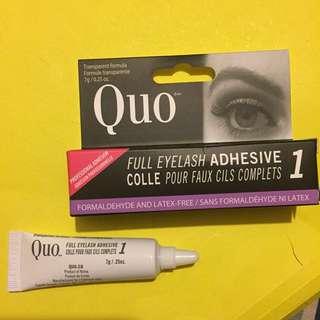 Quo full eyelash adhesive glue