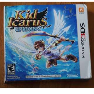 Kid Icarus Uprising Nintendo 3ds version uS ntsc