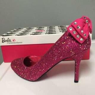 Authentic Barbie sparkle shoes