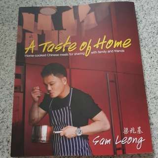 Sam Leong cook book