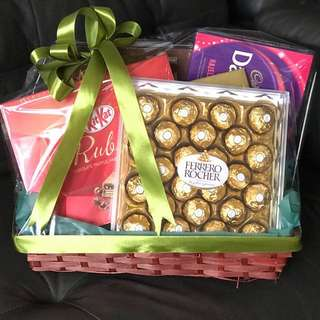 Chocolate Hamper Halal Chocolates Malay Wedding Hari Raya Cheap Hampers Gift