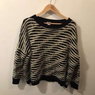 Stripe jumper M