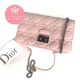MISS DIOR SMALL WITH LONG STRAP