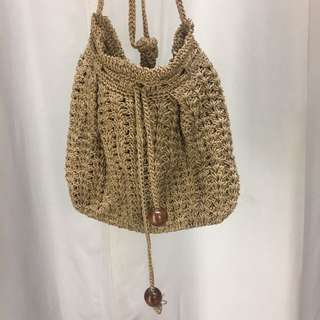 KNIT BAG HANDMADE