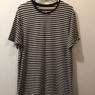 Sly Guild Stripe Tee Size Large