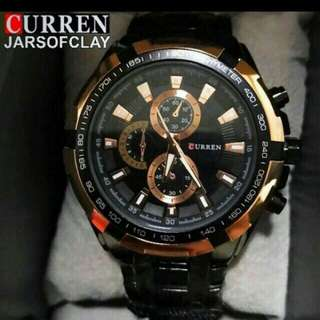 Authentic Curren stainless steel watch