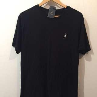 Ralph Lauren Black T-Shirt Size Large