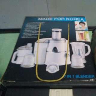 Blender 7in1 made for korea