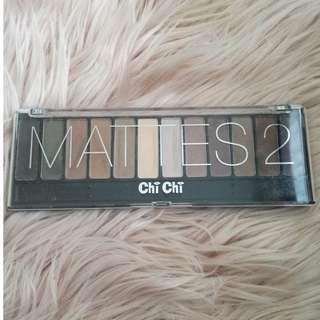 Chi Chi Mattes 2 Eyeshadow Palette