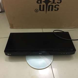 LG Blu ray and multimedia player (never used)
