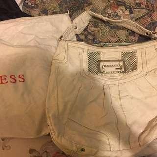 Guess shoulder handbag (white)