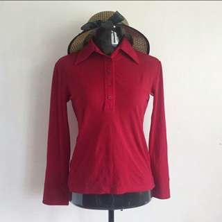 MNG Red Longsleeve