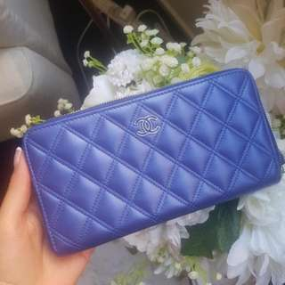 Chanel Authentic Quilted Wallet