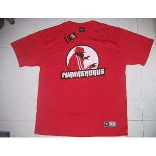 WWE Brodus Clay Funkasaurus T-Shirt WWF WEW ECW TNA UFC MMC